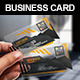 Transparent Angle Business Card - GraphicRiver Item for Sale