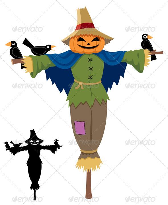Scarecrow - Characters Vectors