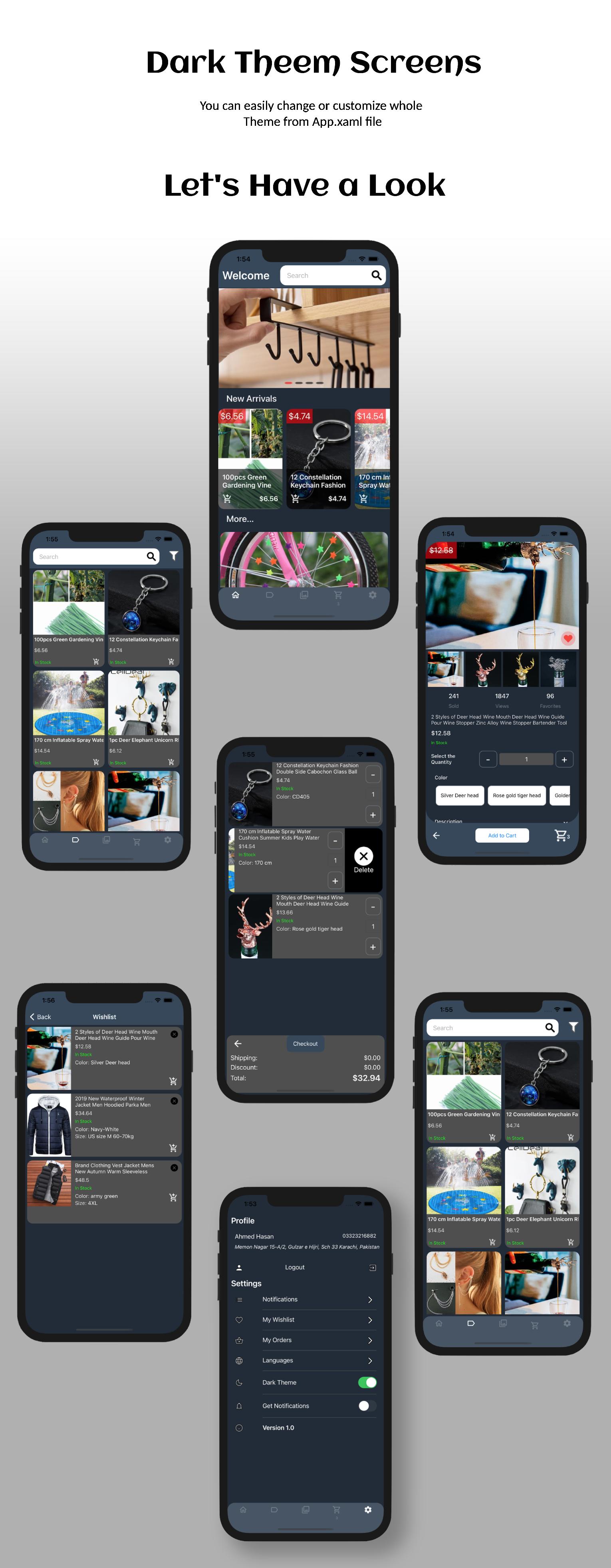 AQStore UI