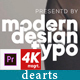 Modern Typo Frame For Premiere - VideoHive Item for Sale