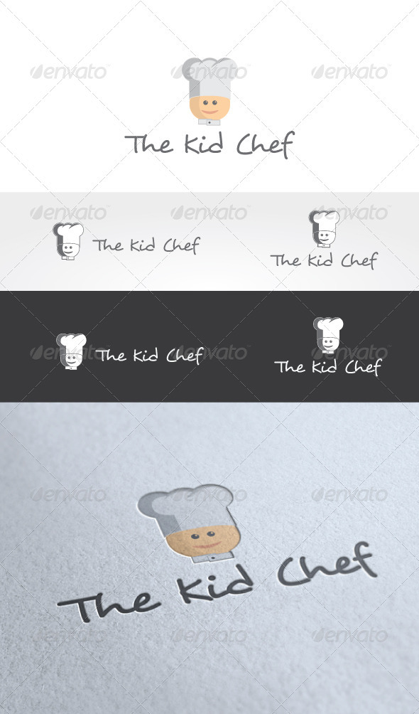 The Kid Chef Logo Template - Humans Logo Templates