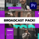 Broadcast Pack for Premiere Pro - VideoHive Item for Sale
