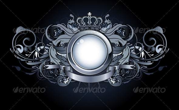 Heraldic frame - Borders Decorative