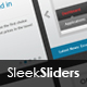Sleek Web Sliders #1 - GraphicRiver Item for Sale