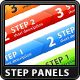 Step Process Panels - GraphicRiver Item for Sale