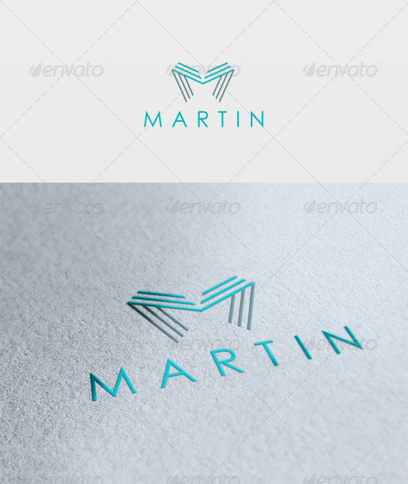 Martin Logo - Letters Logo Templates