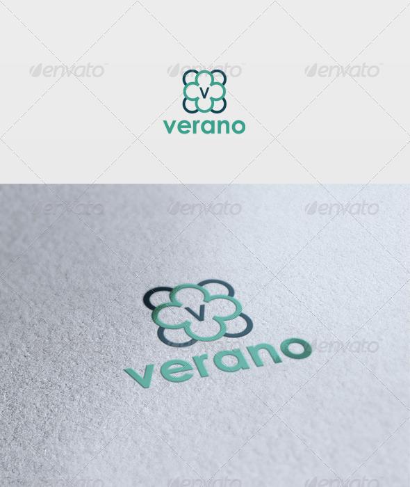 Verano Logo - Letters Logo Templates