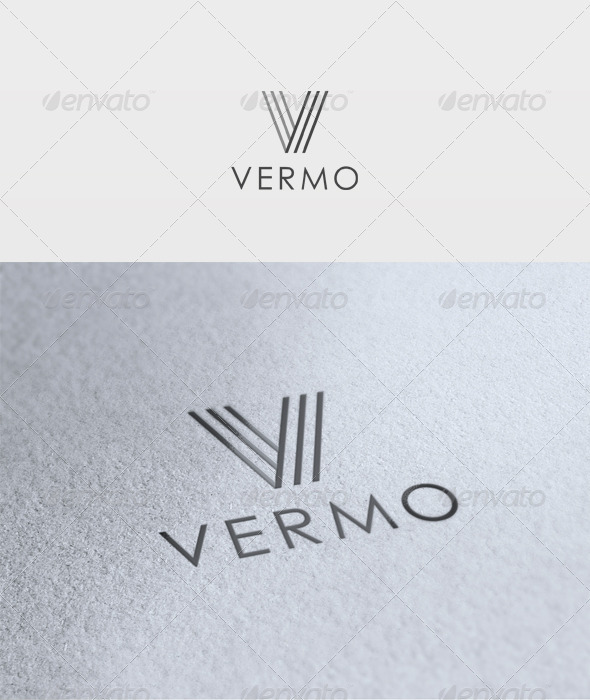 Vermo Logo - Letters Logo Templates
