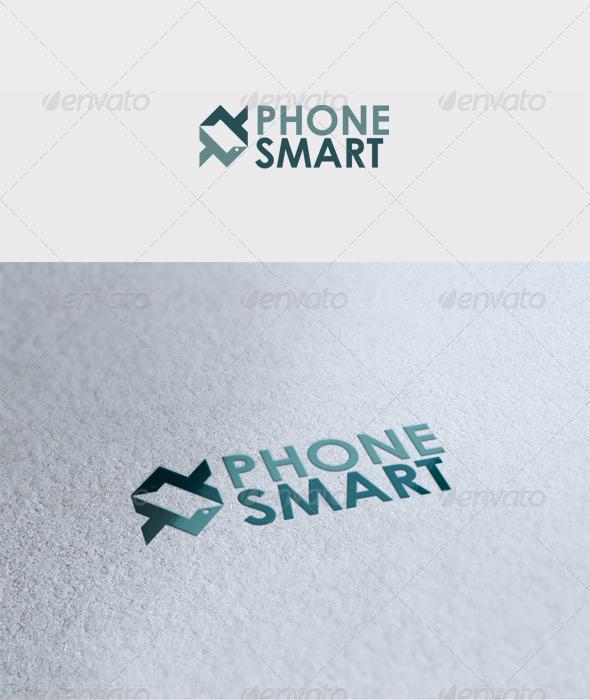 Phone Smart Logo - Vector Abstract