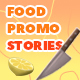 Food Promo Instagram Stories Pack - VideoHive Item for Sale