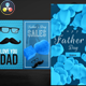Father's Day Instagram Stories - VideoHive Item for Sale