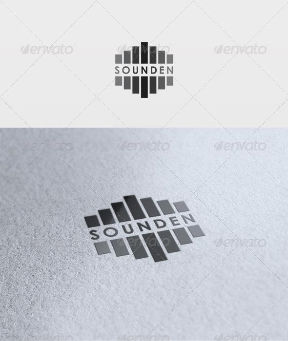 Sounden Logo - Vector Abstract