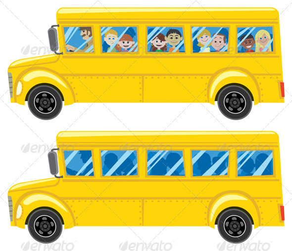 School Bus - Travel Conceptual