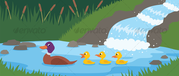 Duck Tale - Animals Characters