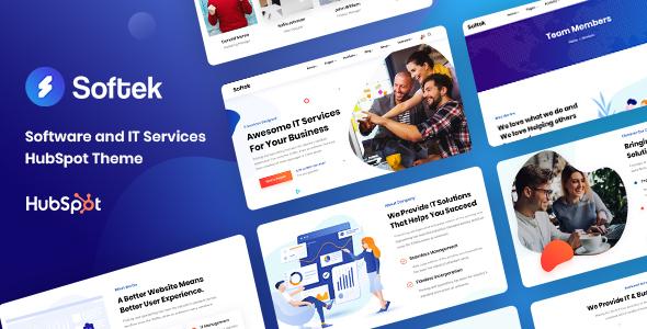 Softek – Software & IT Solutions HubSpot Theme