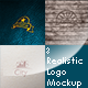 3 Realistic Logo Mockups Pack 1 - GraphicRiver Item for Sale