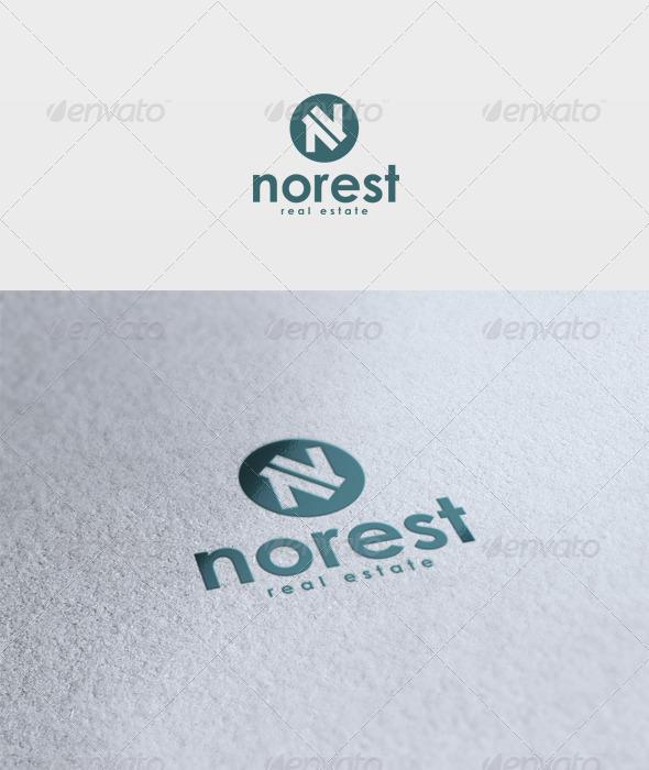 Norest Logo - Letters Logo Templates