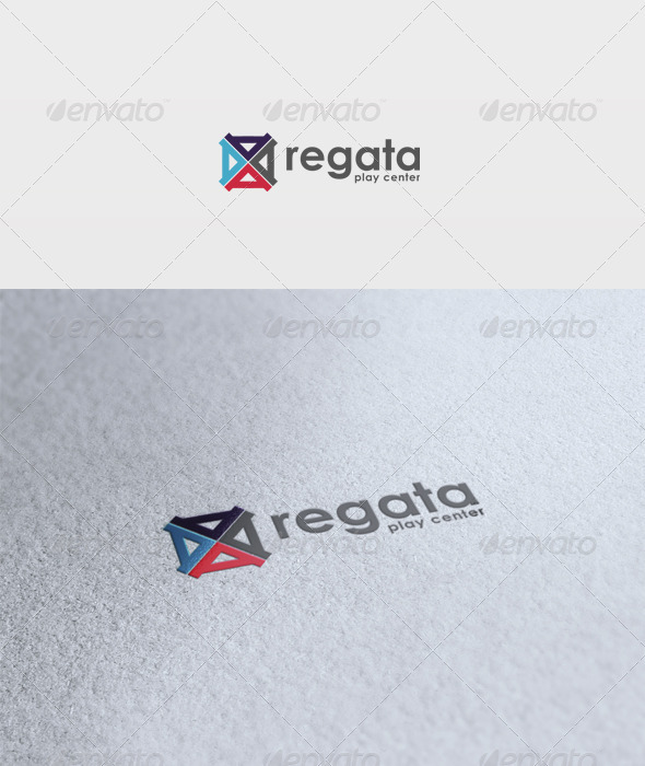 Regata Logo - Vector Abstract