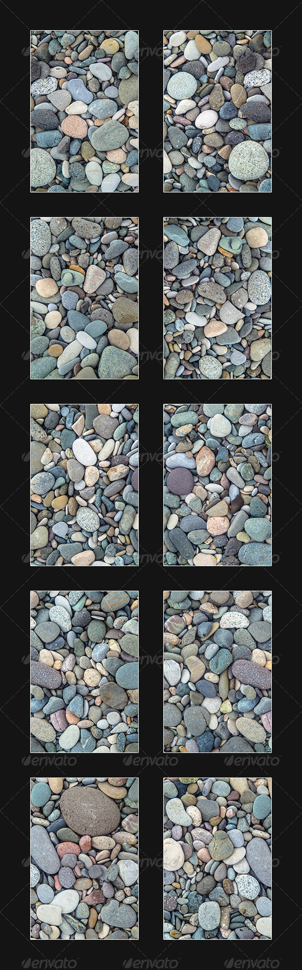 Pack Of Small Stones, 10 Textures - Stone Textures