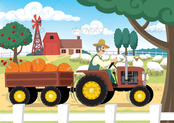 Farm - Backgrounds Business