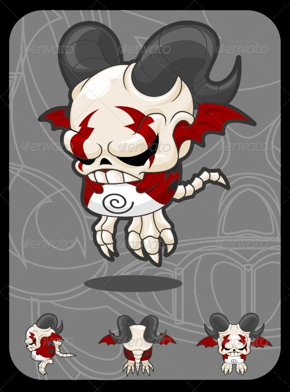 Little Devil - Monsters Characters