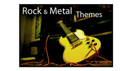 Rock & Metal Themes