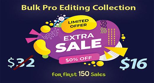 'Pro Bulk Edit' Sales