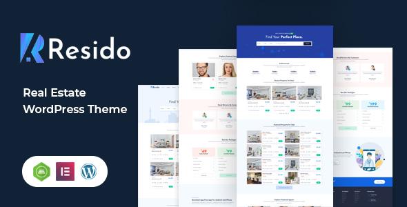 Resido - Real Estate WordPress Theme