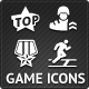 Game icons - GraphicRiver Item for Sale