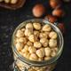 Peeled roasted hazelnut kernels. - PhotoDune Item for Sale