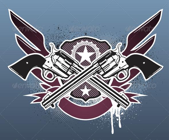 Sheriff  insignia - Conceptual Vectors