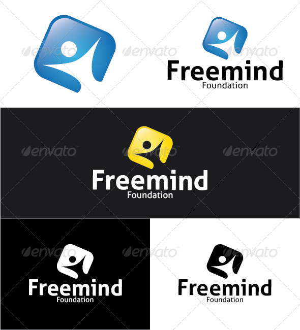 Freemind Foundation Logo - Humans Logo Templates