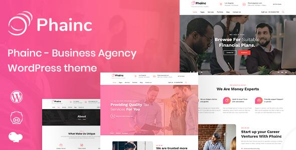 Phainc - Business Agency WordPress Theme