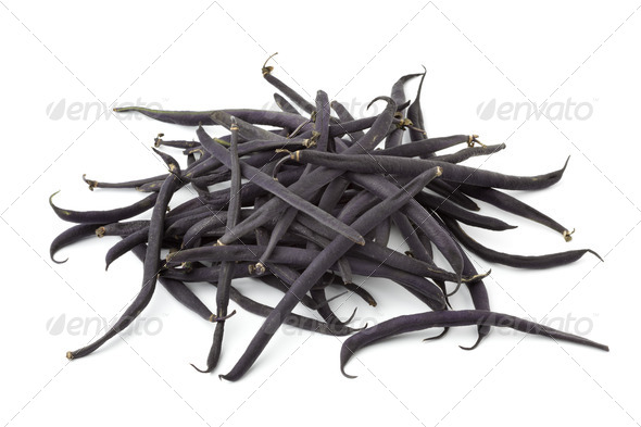 Heap of haricots noir beans - Stock Photo - Images