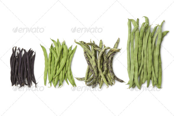 Diversity of fresh  beans - Stock Photo - Images