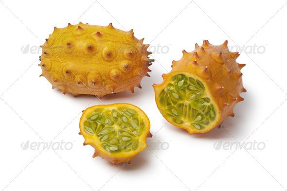 Fresh Kiwano fruit - Stock Photo - Images