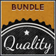 Retro Badges - Vintage Labels Bundle - GraphicRiver Item for Sale
