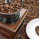 Old coffee grinder and heart on a saucer - PhotoDune Item for Sale
