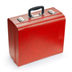 Red suitcase, isolated on white background - PhotoDune Item for Sale