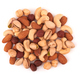 Heap of mixed nuts isolated on white background - PhotoDune Item for Sale