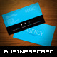 Agency Business Card - GraphicRiver Item for Sale