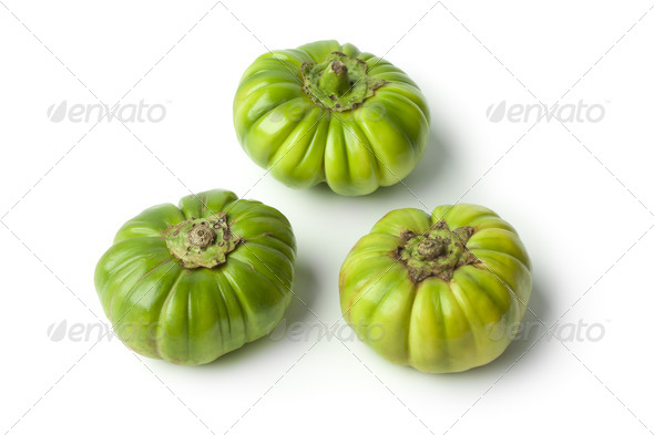 Whole Ethiopean eggplants - Stock Photo - Images
