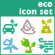 Associations. 16 Ecology Vector Icons. - GraphicRiver Item for Sale