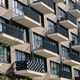 Detail of the facade of a modern apartment building - PhotoDune Item for Sale