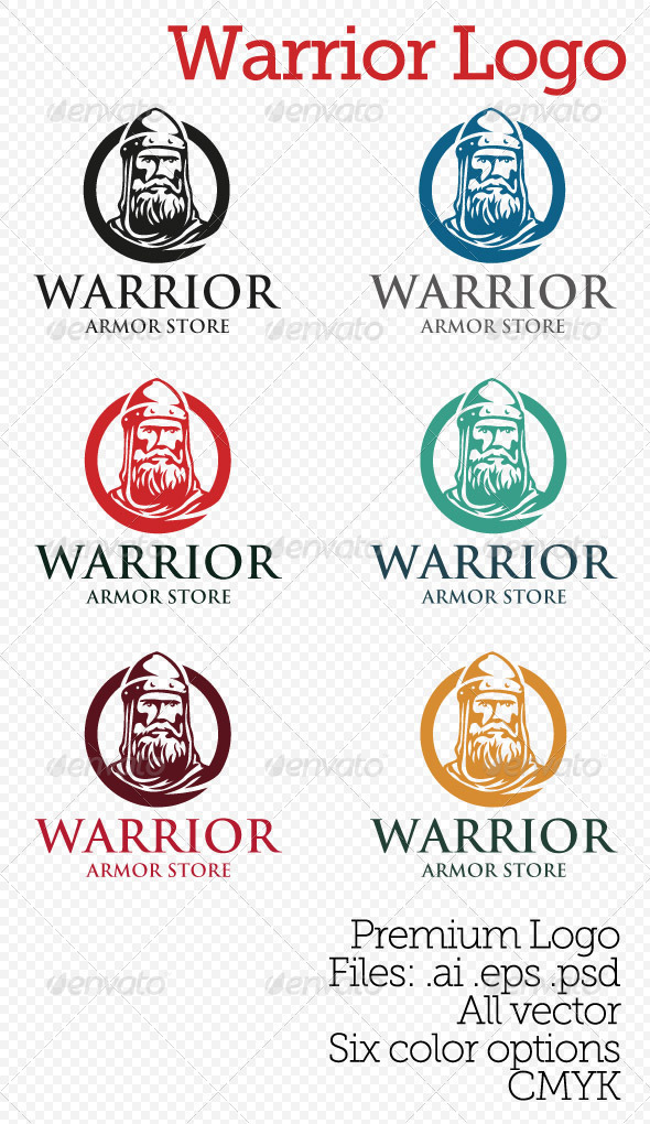 Warrior Logo By Oscarstoned Graphicriver