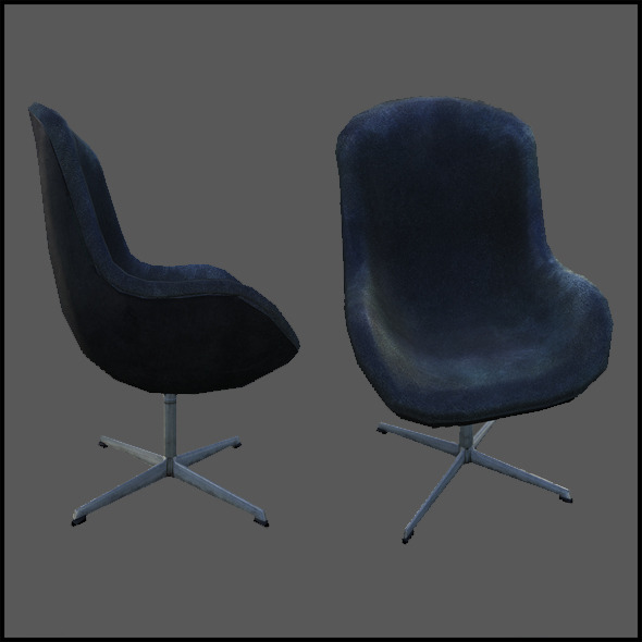 Luxurious Office Chair - 3DOcean Item for Sale