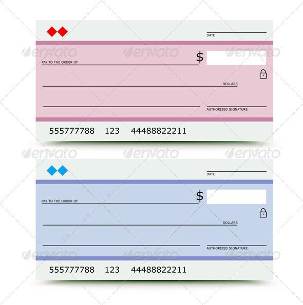 Bank chek - Business Conceptual