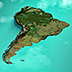 South America Map DR - VideoHive Item for Sale