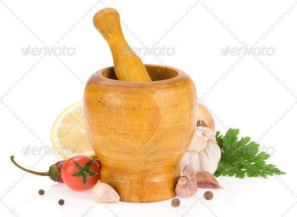 food ingredients and spice - Stock Photo - Images