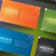 Sunlit Business Card (5 Colors + 1 Colorful) - GraphicRiver Item for Sale